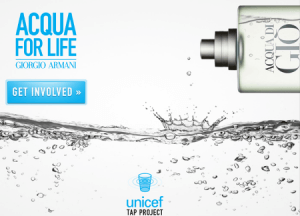 aqua for life - marketing con causa