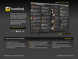Tweetdeck y Twitter - Marketing