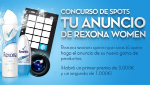 concurso spot rexona women - marketing