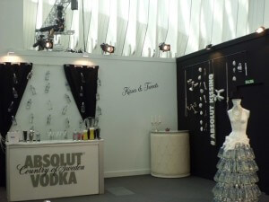 Absolut Kissing Room - Marketing