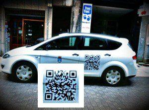 Código QR - TaxiOviedo - Travelgenio