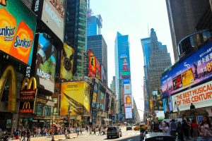 Times Square - Lonas Publicitarias - Street Marketing